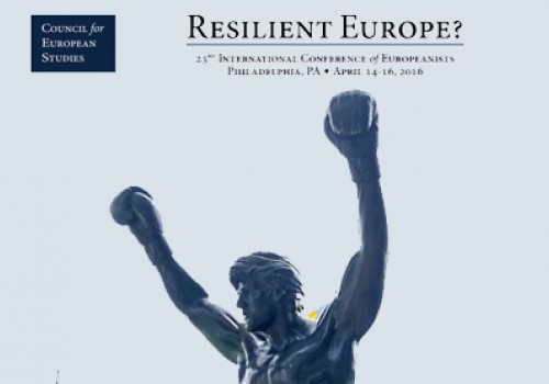 International Conference of Europeanists - Resilient Europe?