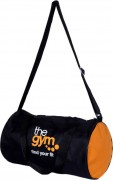 Gag Wear trendy Gym bag  (Black, Orange, Kit Bag)