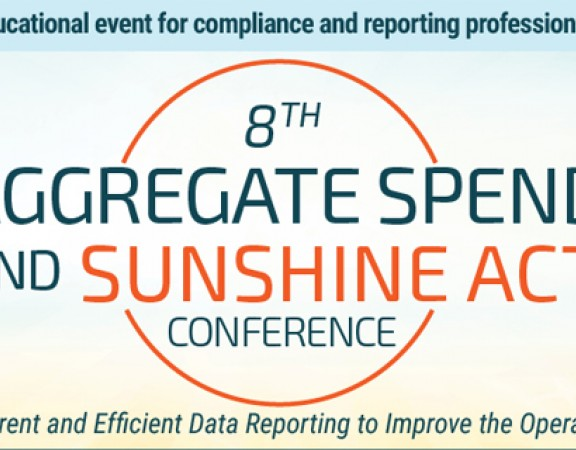 8th Aggregate Spend and Sunshine Act Conference 2017