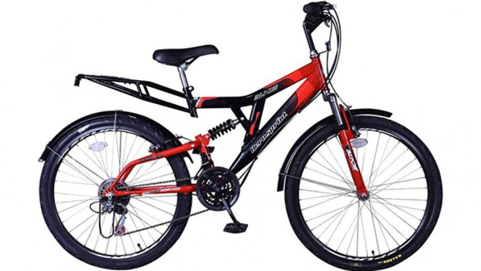 Hero Blade 26T S365BBDBD01 Hybrid Cycle  (Red, Black)