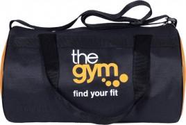 Gag Wear trendy Gym bag  (Black, Orange, Kit Bag)