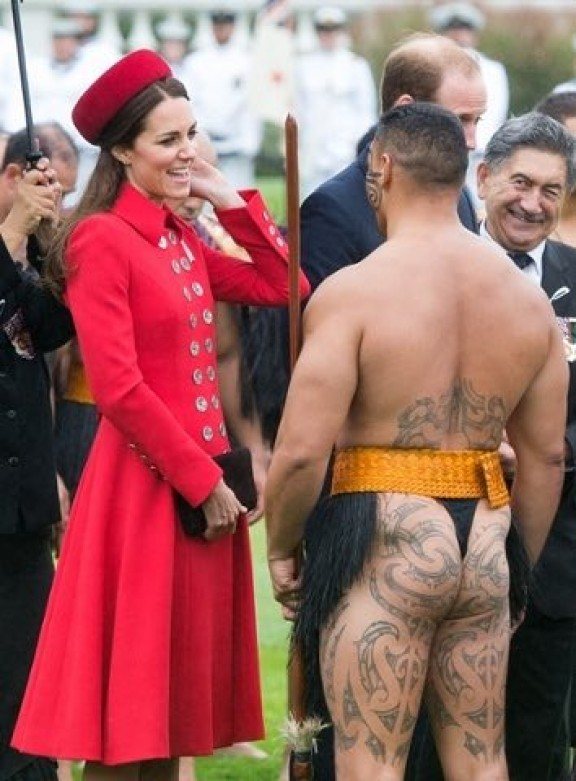 Duchess of Cambridge and the meaning of the Maori warrior's tattoo